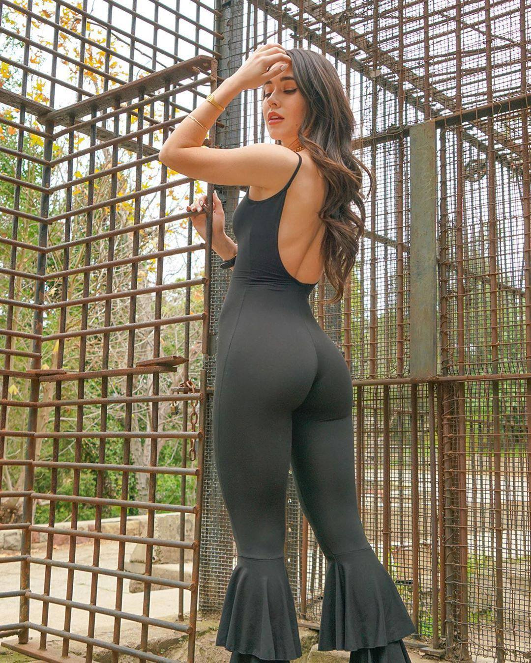 Audrey Bradford Hot Ass In Tight Bodysuit