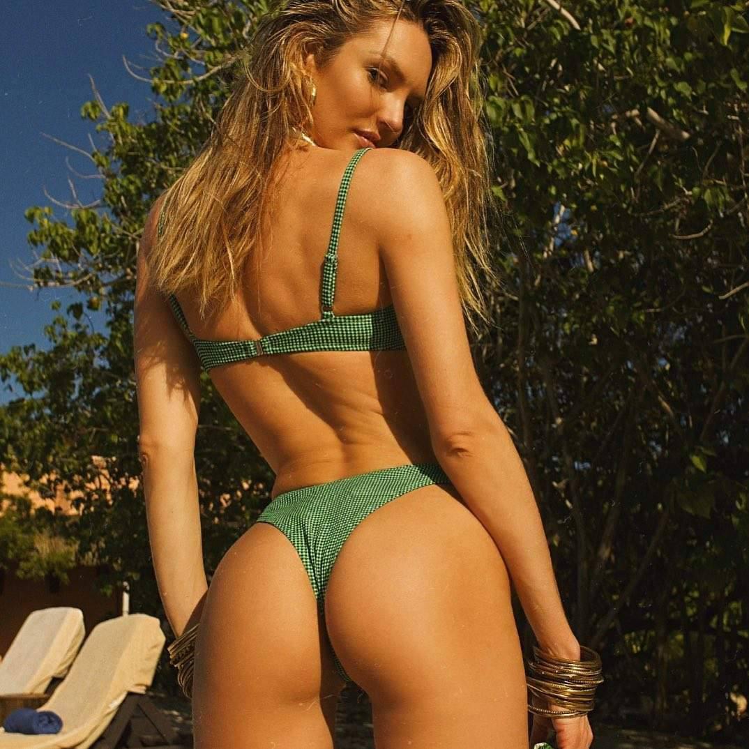 Candice Swanepoel Sexy Ass In Small Bikini