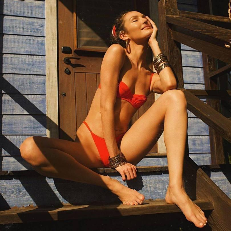 Candice Swanepoel Skimpy Bikini