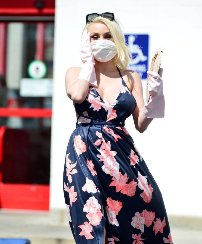 Courtney Stodden Sexy Dress