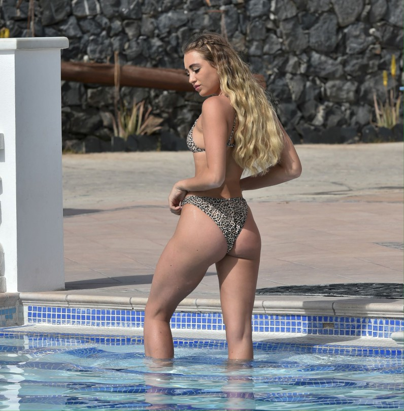 Georgia Harrison Hot Ass In Tiny Bikini