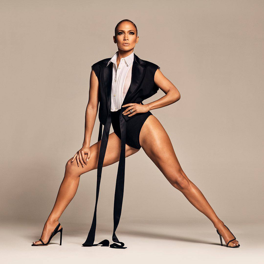 Jennifer Lopez Sexy Long Legs And High Heels