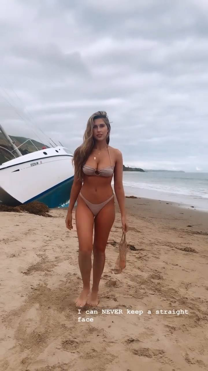 Kara Del Toro Sexy Bikini Boobs