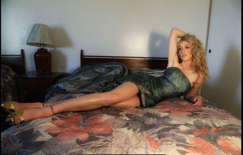 Katherine Mcnamara Sexy Legs