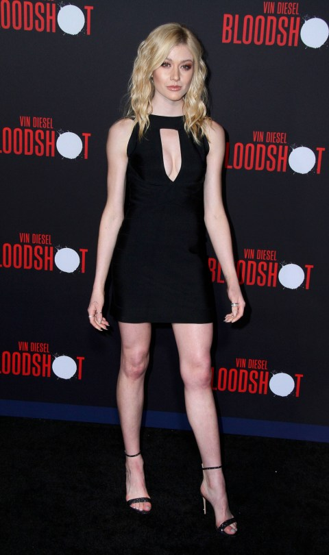 Katherine Mcnamara Short Black Dress
