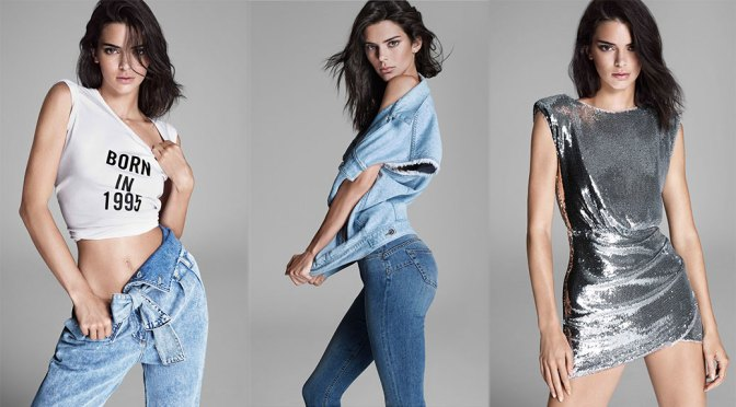 Kendall Jenner Sexy Ass In Jeans
