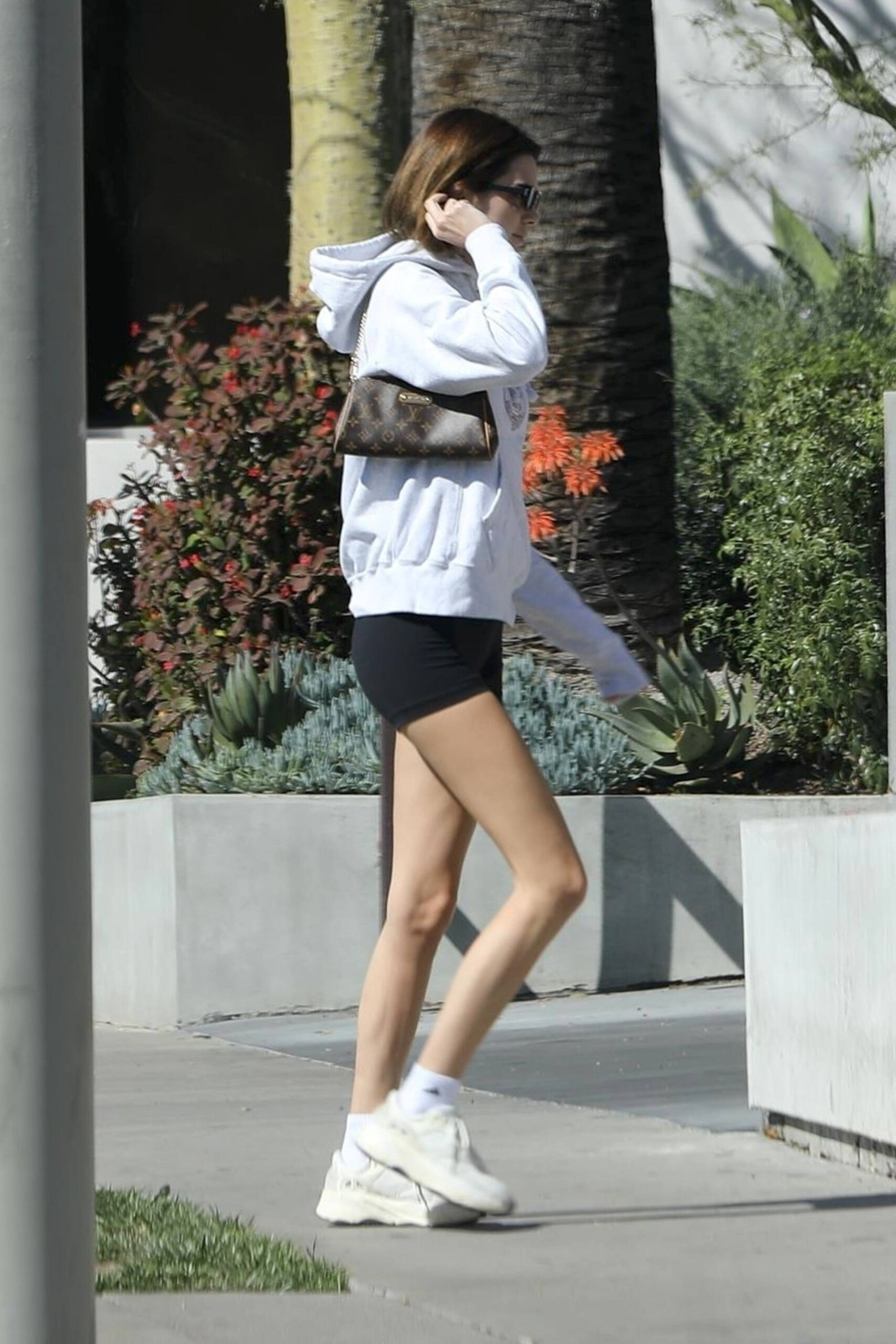 Kendall Jenner Sexy Ass In Little Shorts