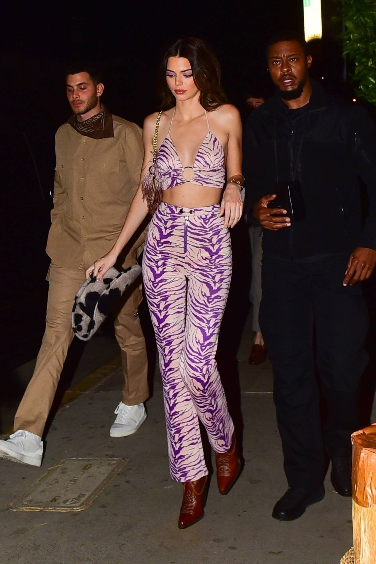 Kendall Jenner Sexy In Tiny Top