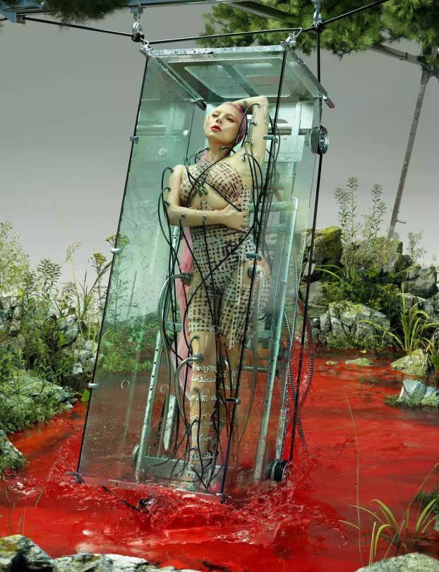 Lady Gaga Sexy Photoshoot