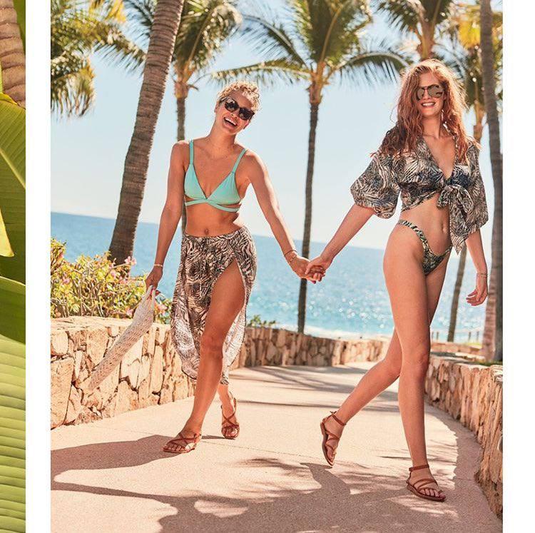 Lais Ribeiro Jasmine Sanders Alexina Graham Sexy Bikinis