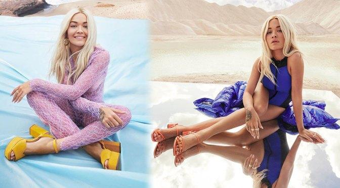 Rita Ora – Sexy Legs and Feet in Deichmann Spring/Summer 2020 Campaign