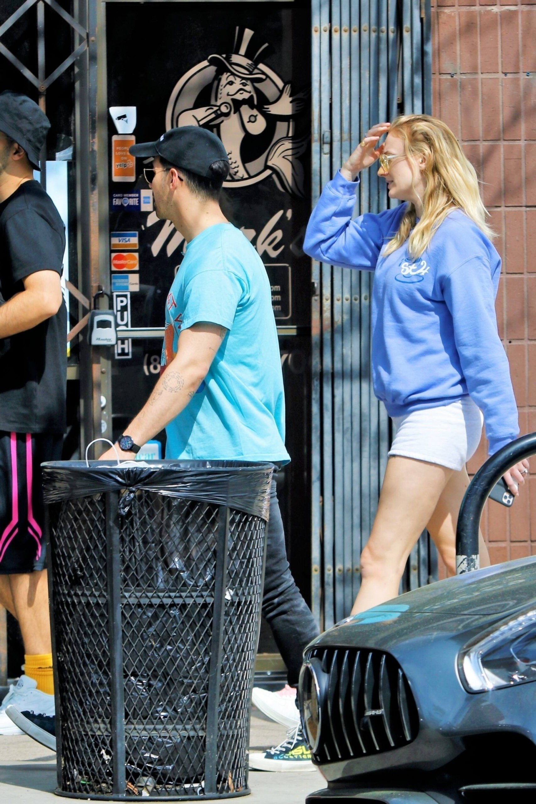 Sophie Turner Sexy Shorts