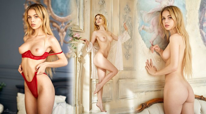 Alexandra Smelova – Beautiful Boobs and Body in Sexy Naked Photoshoot (NSFW)