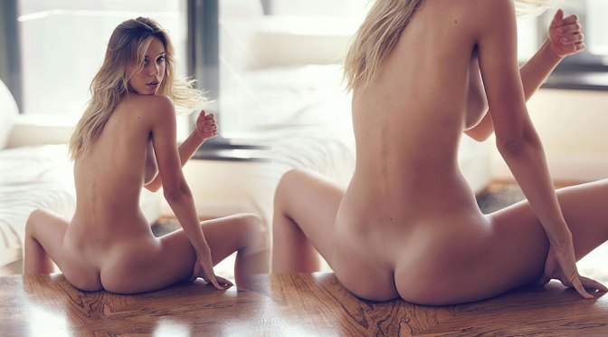 Alexis Ren – Hot Naked Ass in Sexy photoshoot by David Bellemere (NSFW)