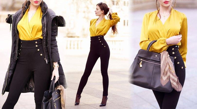 Ariadna Majewska Beautiful In Heels And Tight Pants