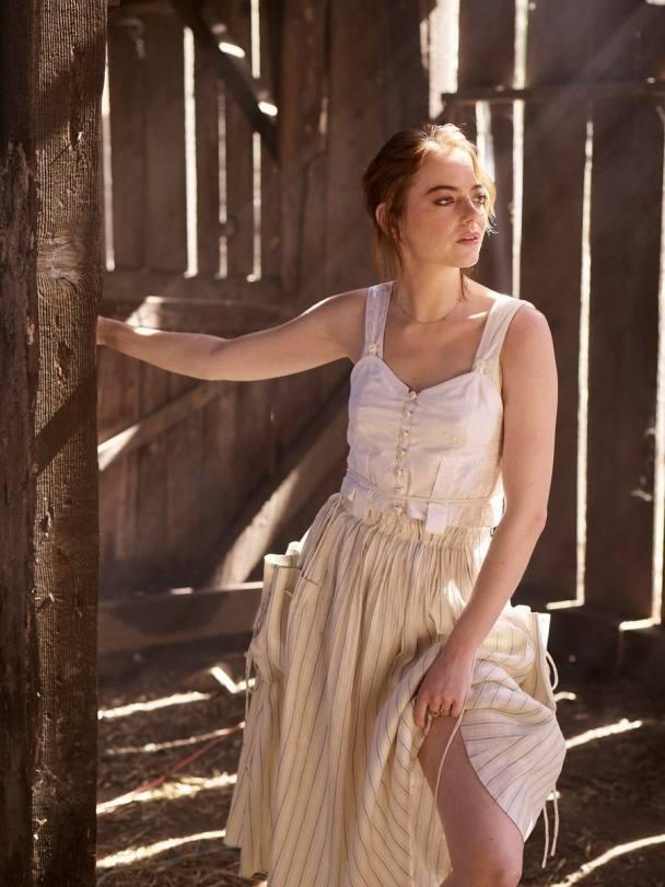 Emma Stone Beautiful Photoshoot Outtakes