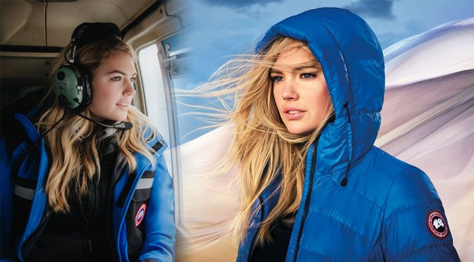 Kate Upton – Beautiful in Photoshoot for Canada Goose Spring 2020 Campaign