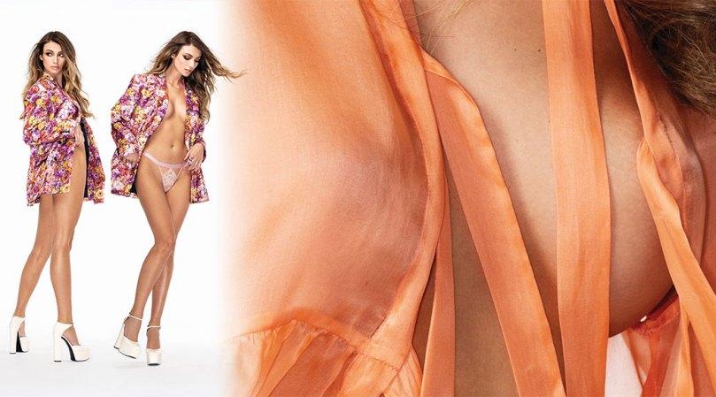 Lorena Rae Hot Body In Scanty Lingerie