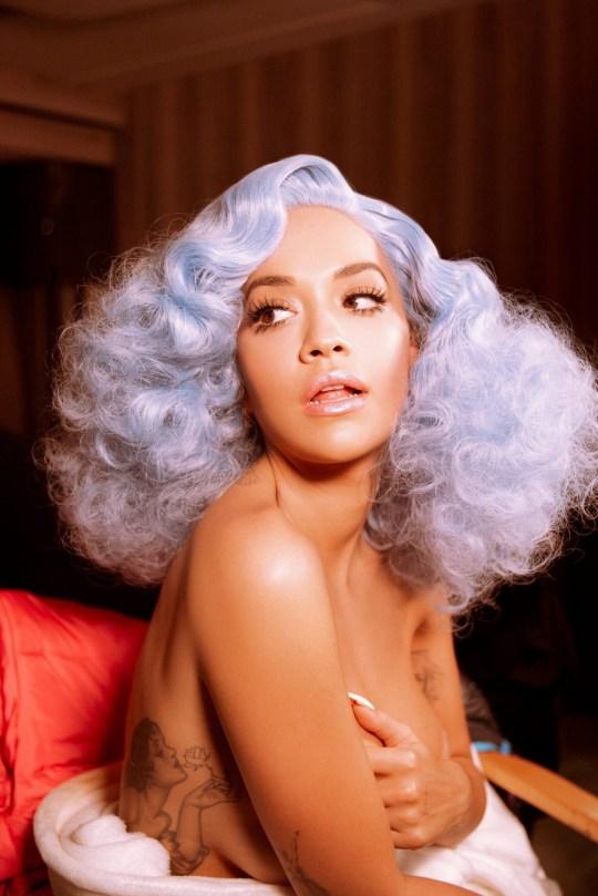 Rita Ora Racy Promo Pictures
