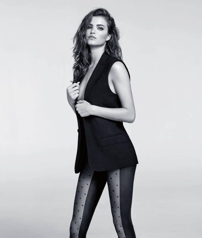 Robin Holzken Hot Stockings Pics