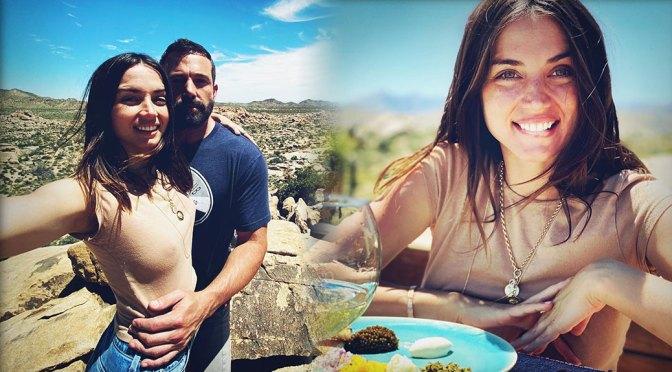 Ana de Armas – Sexy Braless Nipples in Birthday Photoshoot