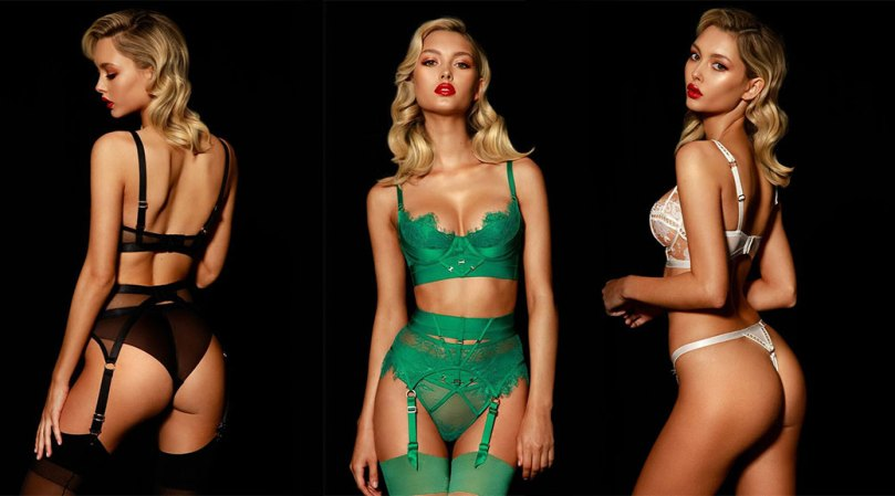 Chloe Avenaia Sexy Ass In Lingerie