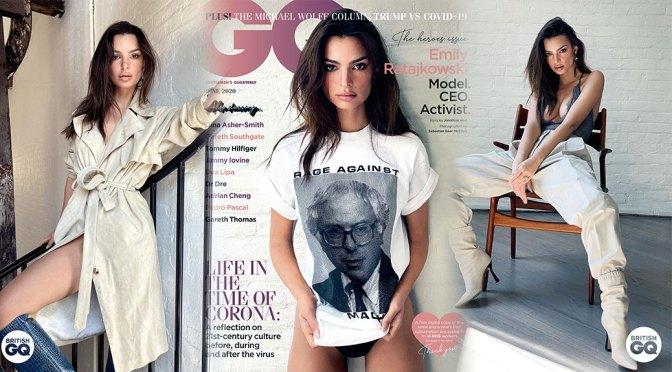 Emily Ratajkowski – Sexy in GQ Magazine Photoshoot (May 2020)