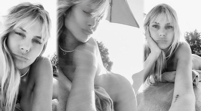 Heidi Klum – Sexy Body in Nude Selfies