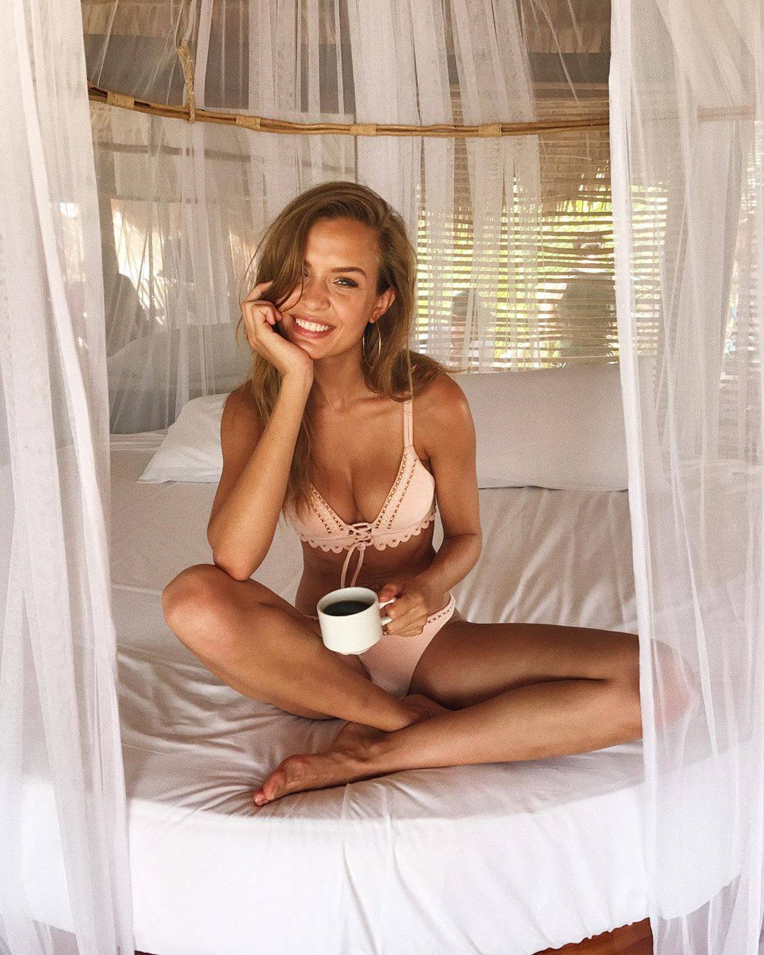 Josephine Skriver Beautiful In Underwear
