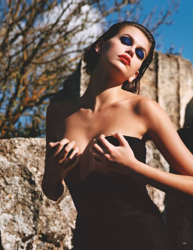 Kaia Gerber Sexy In Vogue