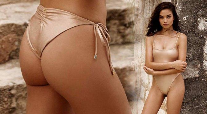 Shanina Shaik – Sexy Ass in Beach Bunny Swimwear 2020 Photoshoot
