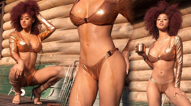 Stormi Maya Hot In Racy Bikini