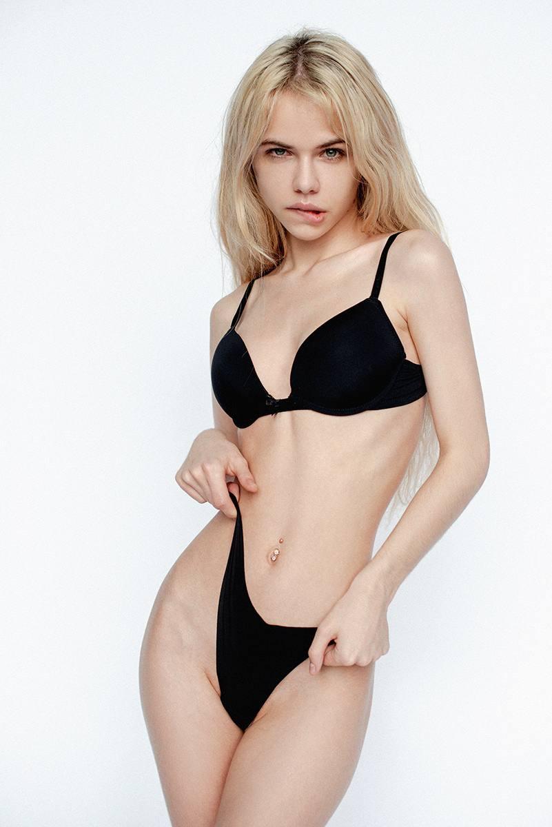 Alexandra Smelova Topless