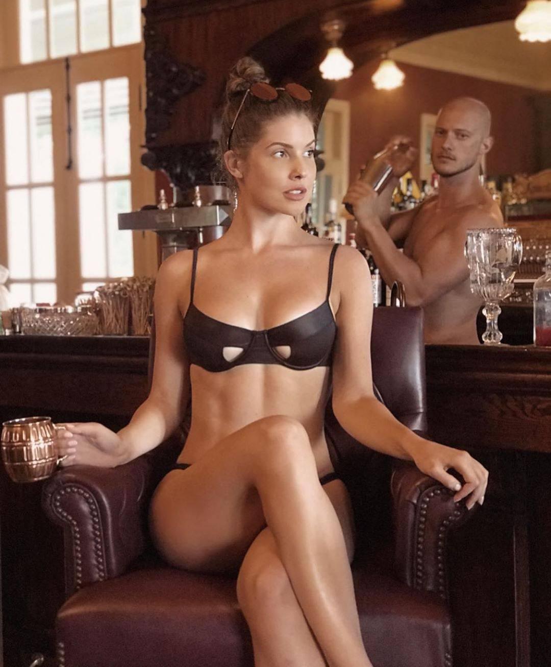 Amanda Cerny Beautiful In Bra And Panties