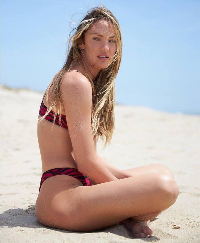 Candice Swanepoel Beautiful In Bikini