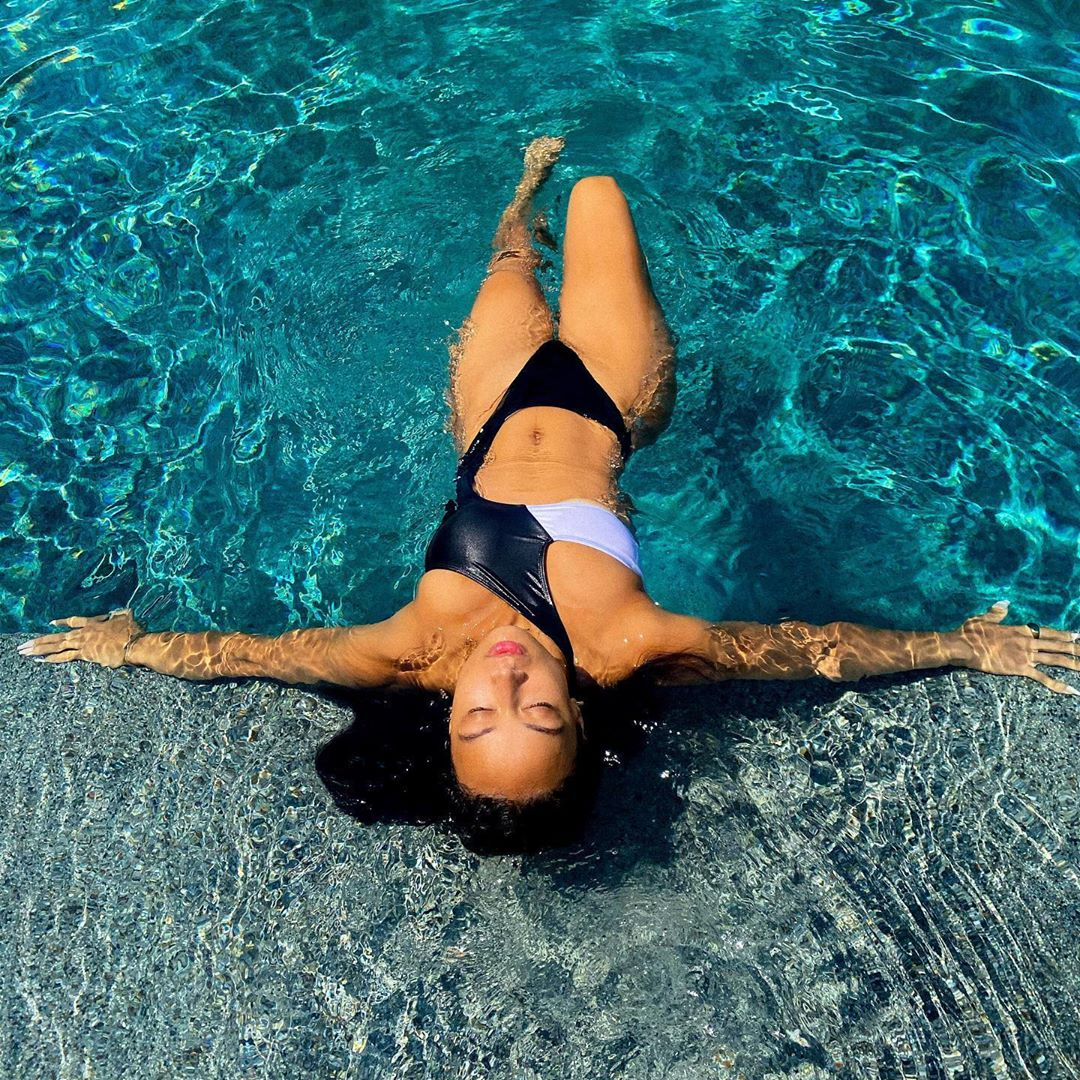 Draya Michell Hot In Swimsuit