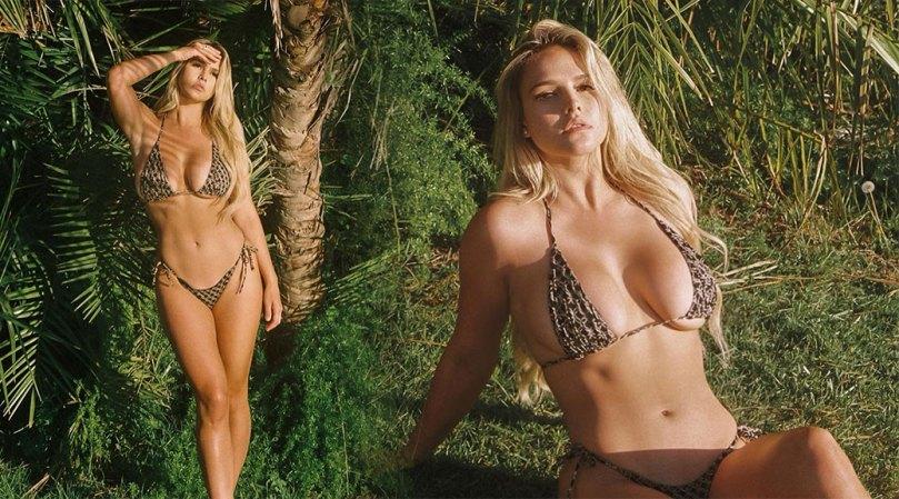Kinsey Wolanski Sexy Big Tits In Bikini