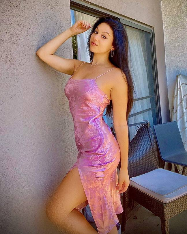 Kira Kosarin Sexy Dress
