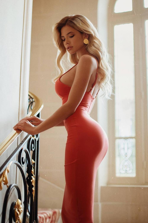 Nata Lee Beautiful Red Dress