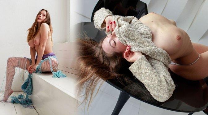 Olga Kobzar – Beautiful Boobs in Sexy Topless Photoshoot (NSFW)