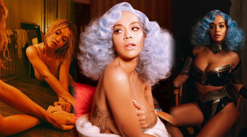 Rita Ora Hot Boobs And Pokies