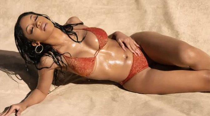 Saweetie Sexy Boobs In Bikini