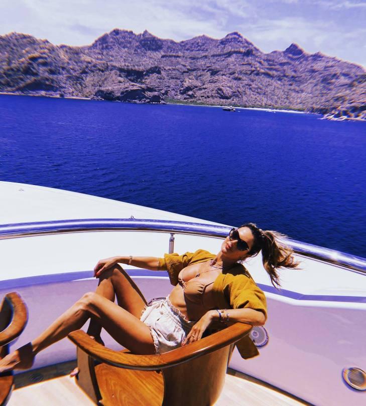 Alessandra Ambrosio Beautiful In Bikini Top