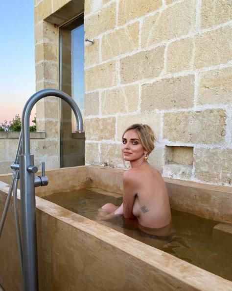 Chiara Ferragni Topless
