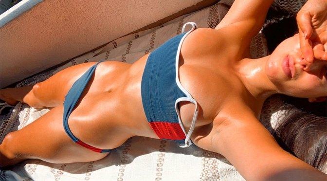 Kira Kosarin Sexy Sunbathing