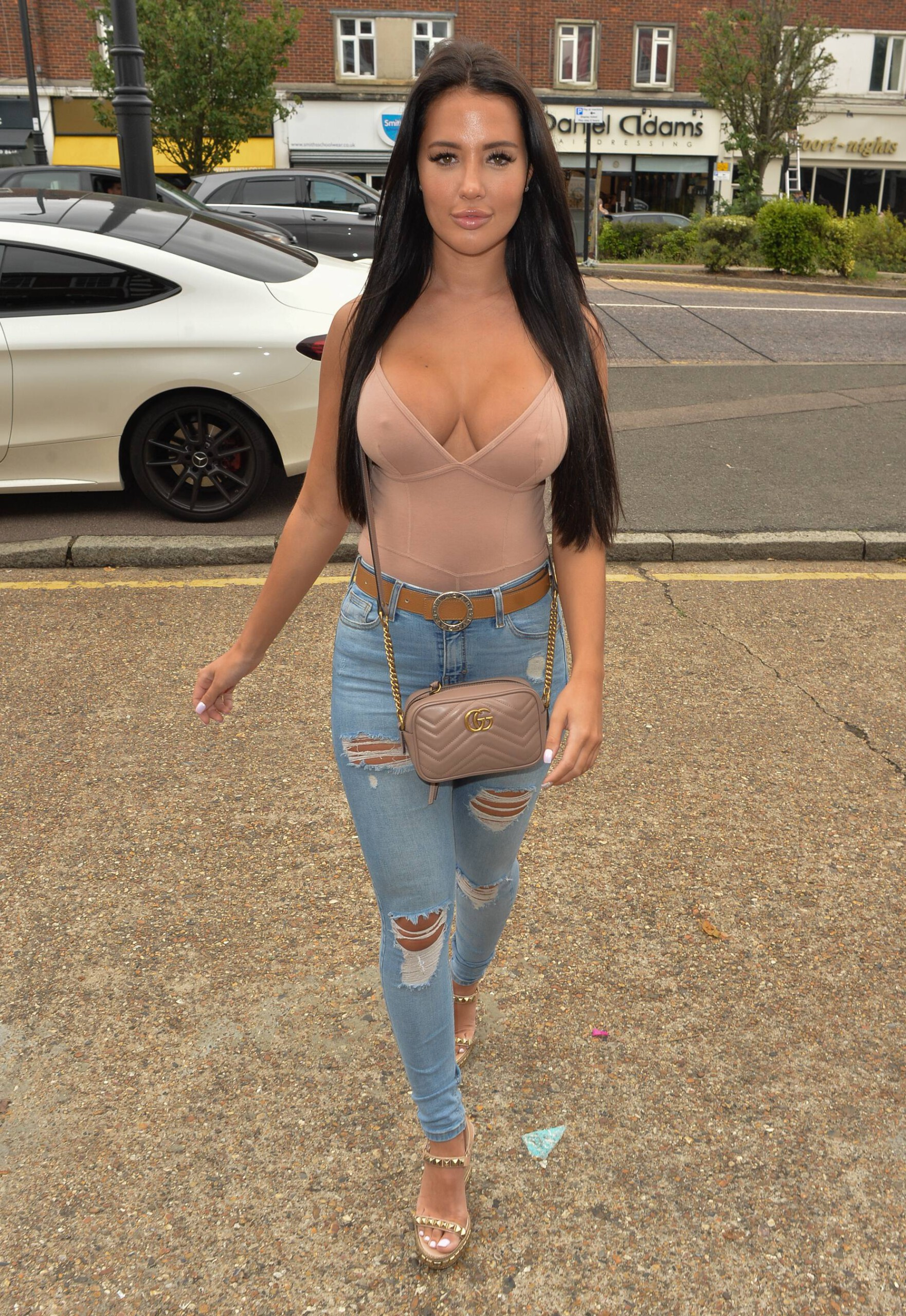 Yazmin Oukhellou Sexy Breasts