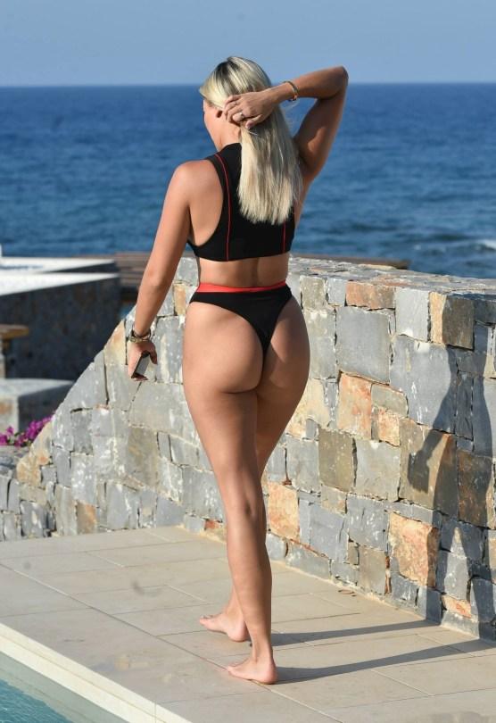 Amber Turner In Thong Bikini
