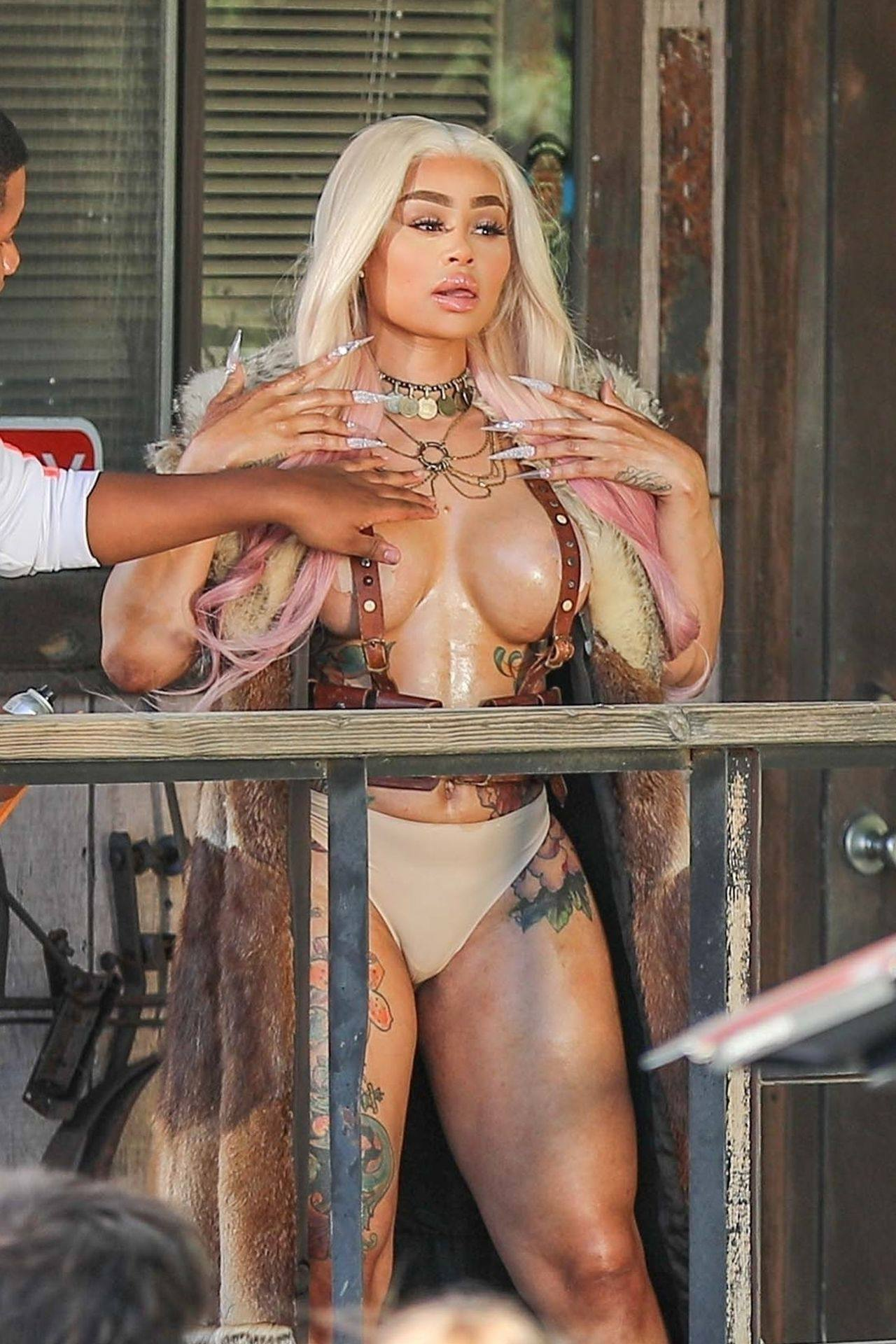 Black Chyna Big Tits