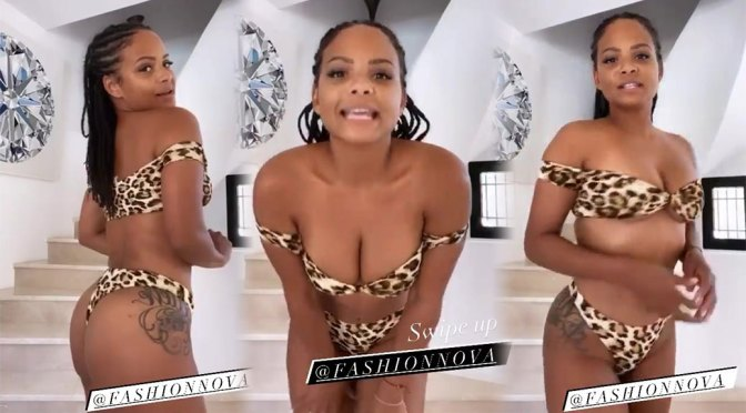 Christina Milian – Beautiful Big Boobs in Sexy Lingerie Video