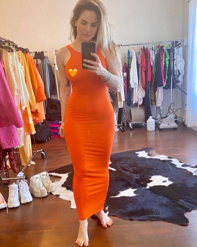 Jojo Sexy In Sheer Dress